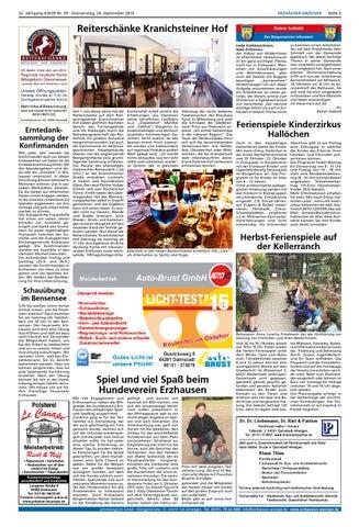 Erzhäuser Anzeiger KW39 by printdesign24gmbh - issuu