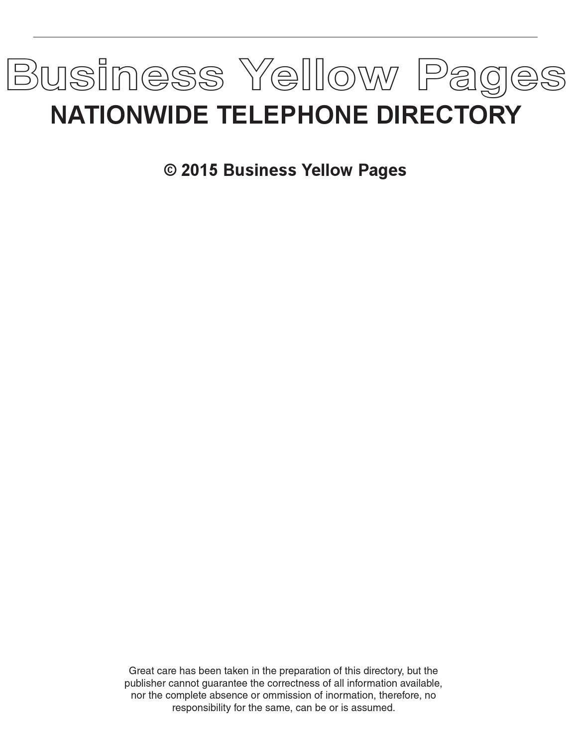 Byp June 2015 By Business Yellow Pages USA