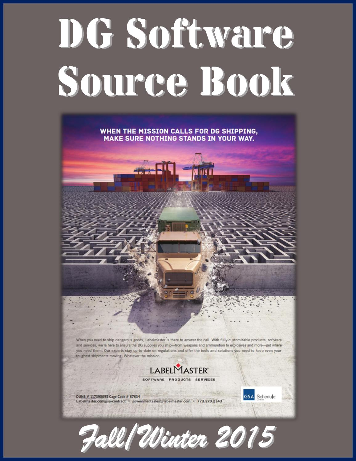 DG Software Source Book by Federal Buyers Guide, inc  - issuu