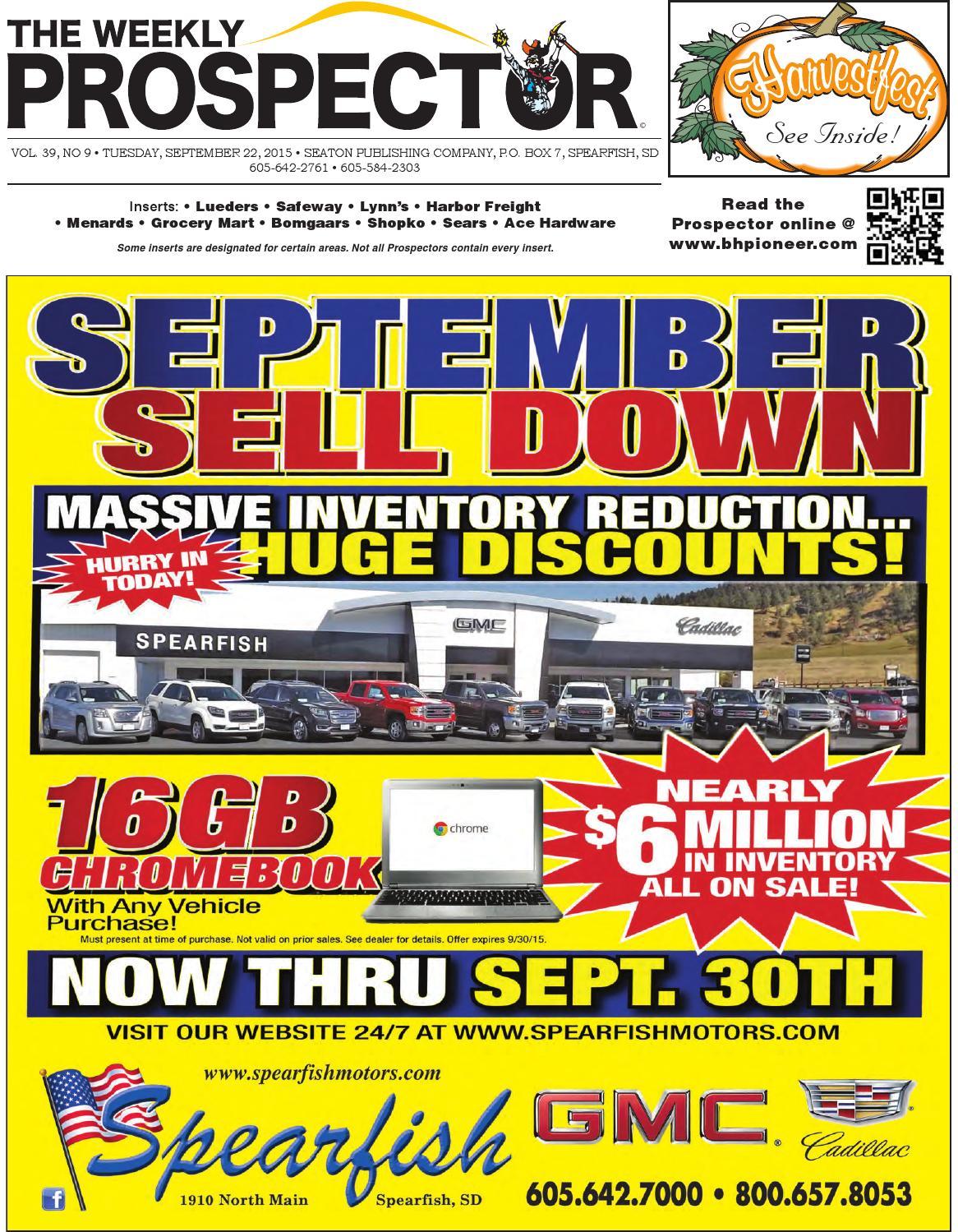 9-22-15 Weekly Prospector by Black Hills Pioneer - issuu