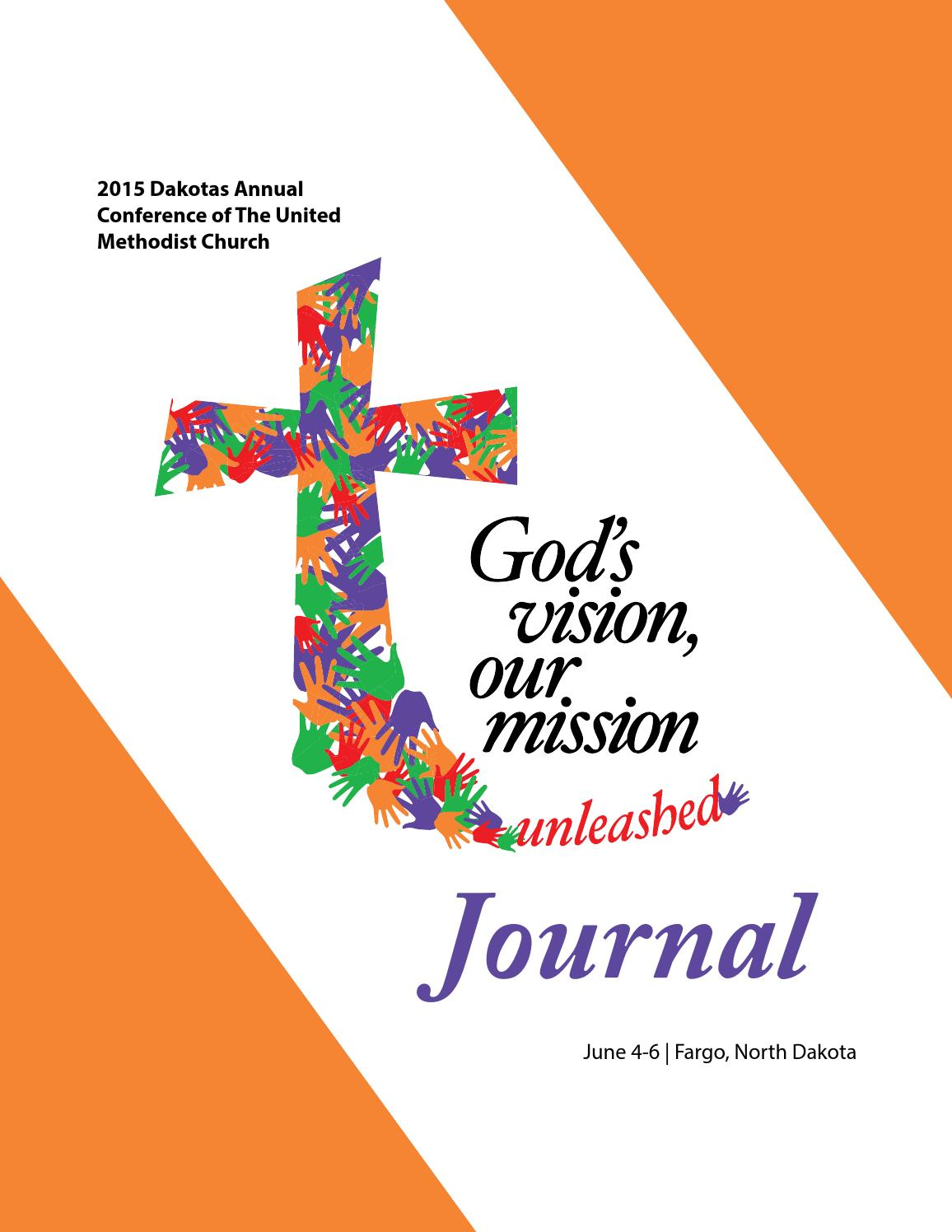 2015 Journal by Dakotas Conference UMC issuu