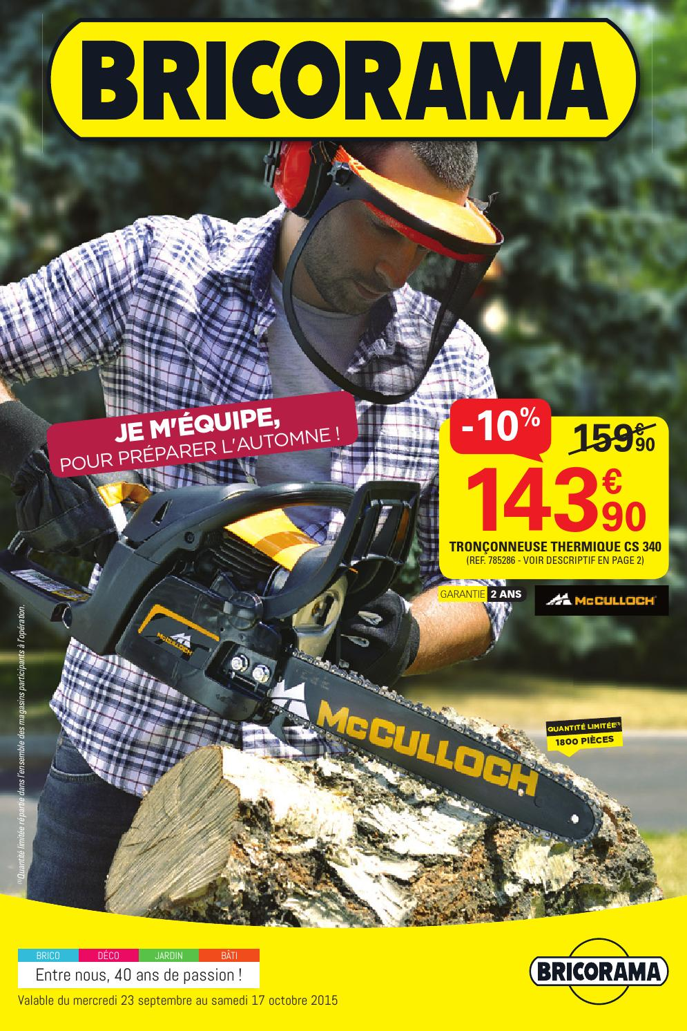 Bricorama Catalogue 23septembre 17octobre2015 By