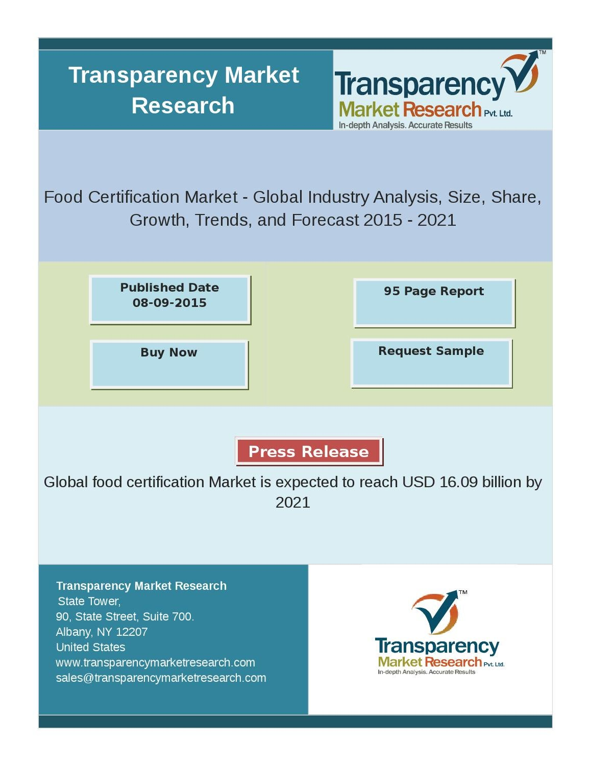 Food certification market global industry analysis size share food certification market global industry analysis size share growth trends and forecast 2015 2 by amy james issuu xflitez Images