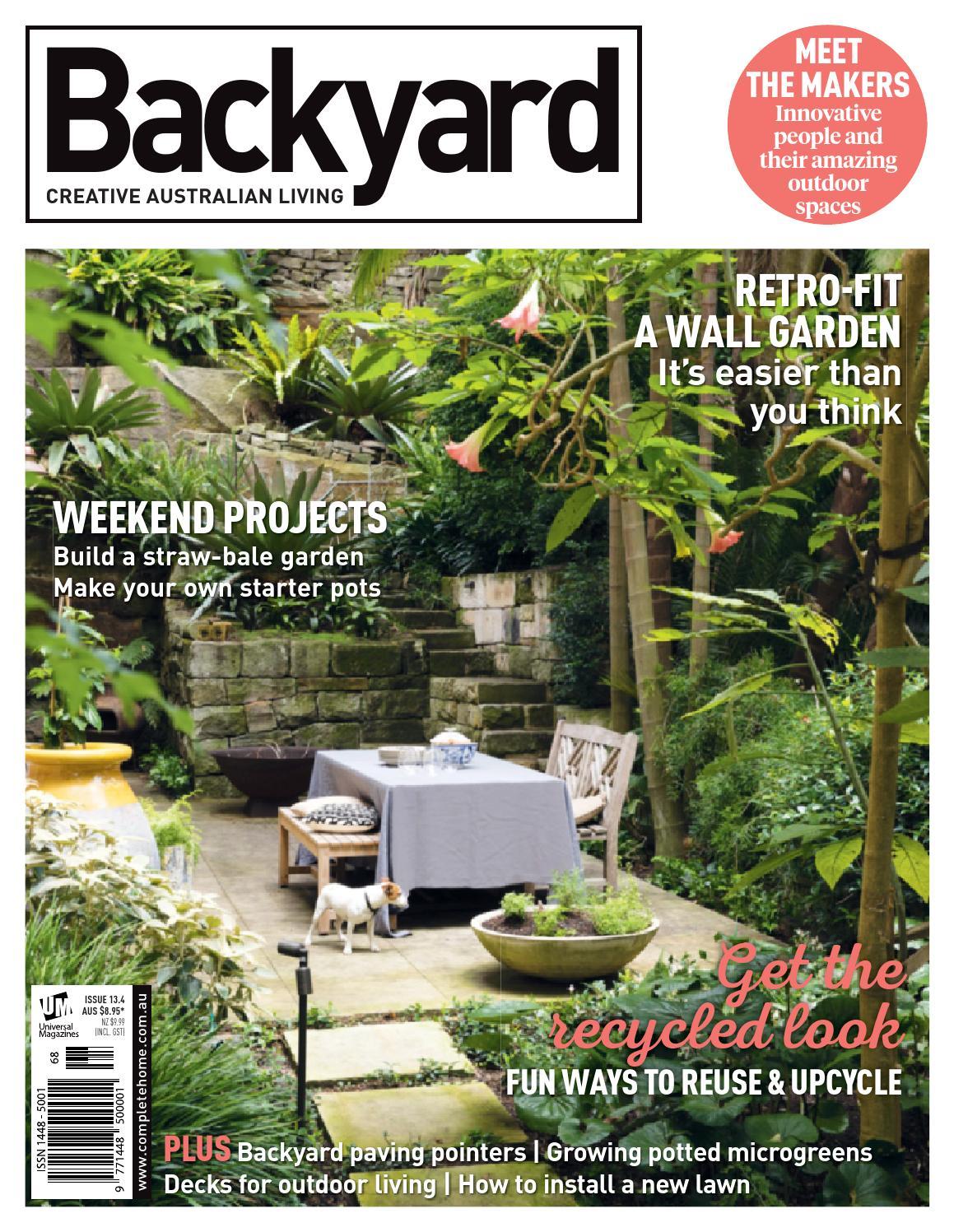 issue 13 4 2015 by backyard magazine issuu