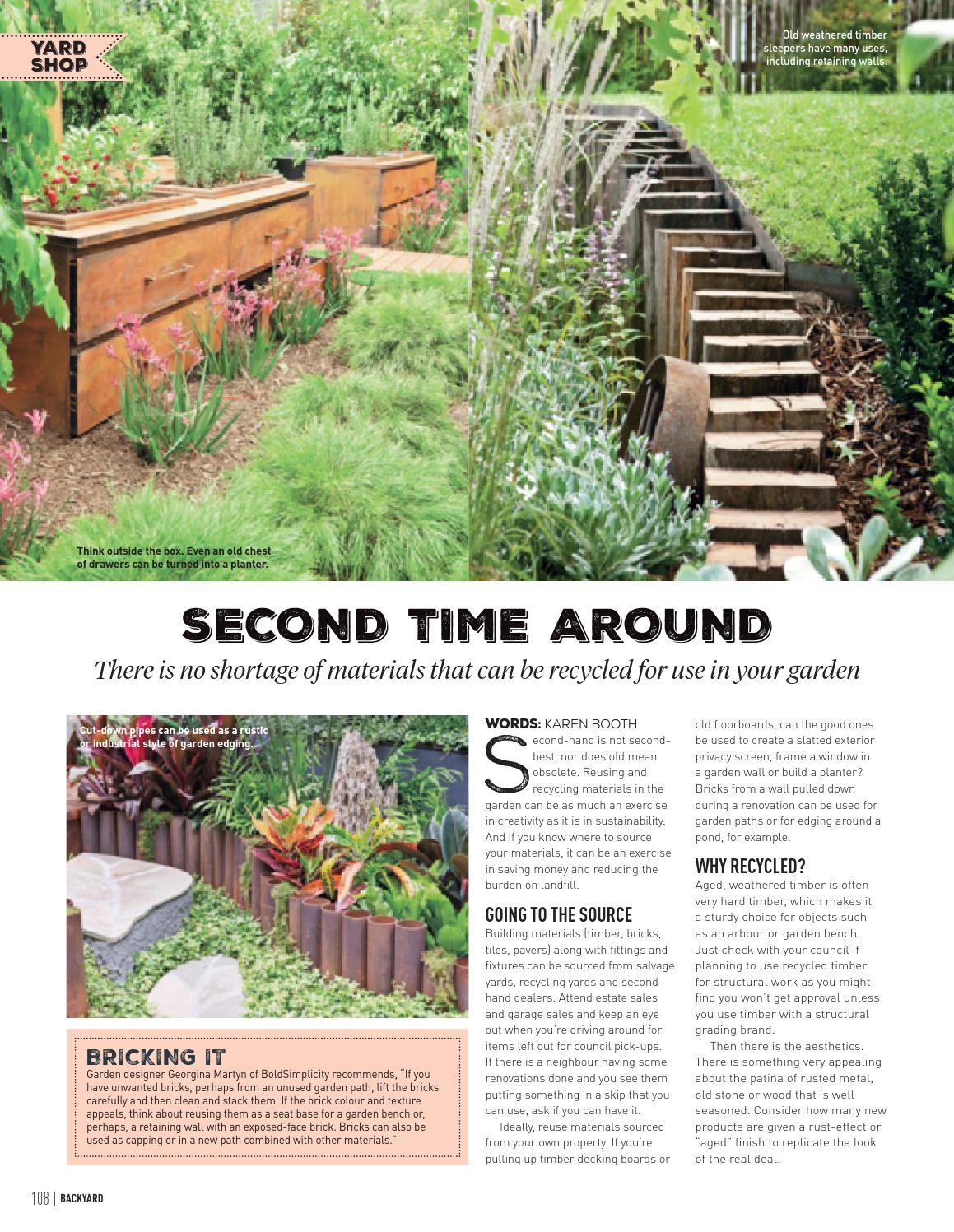 issue 13 4 2015 by backyard magazine