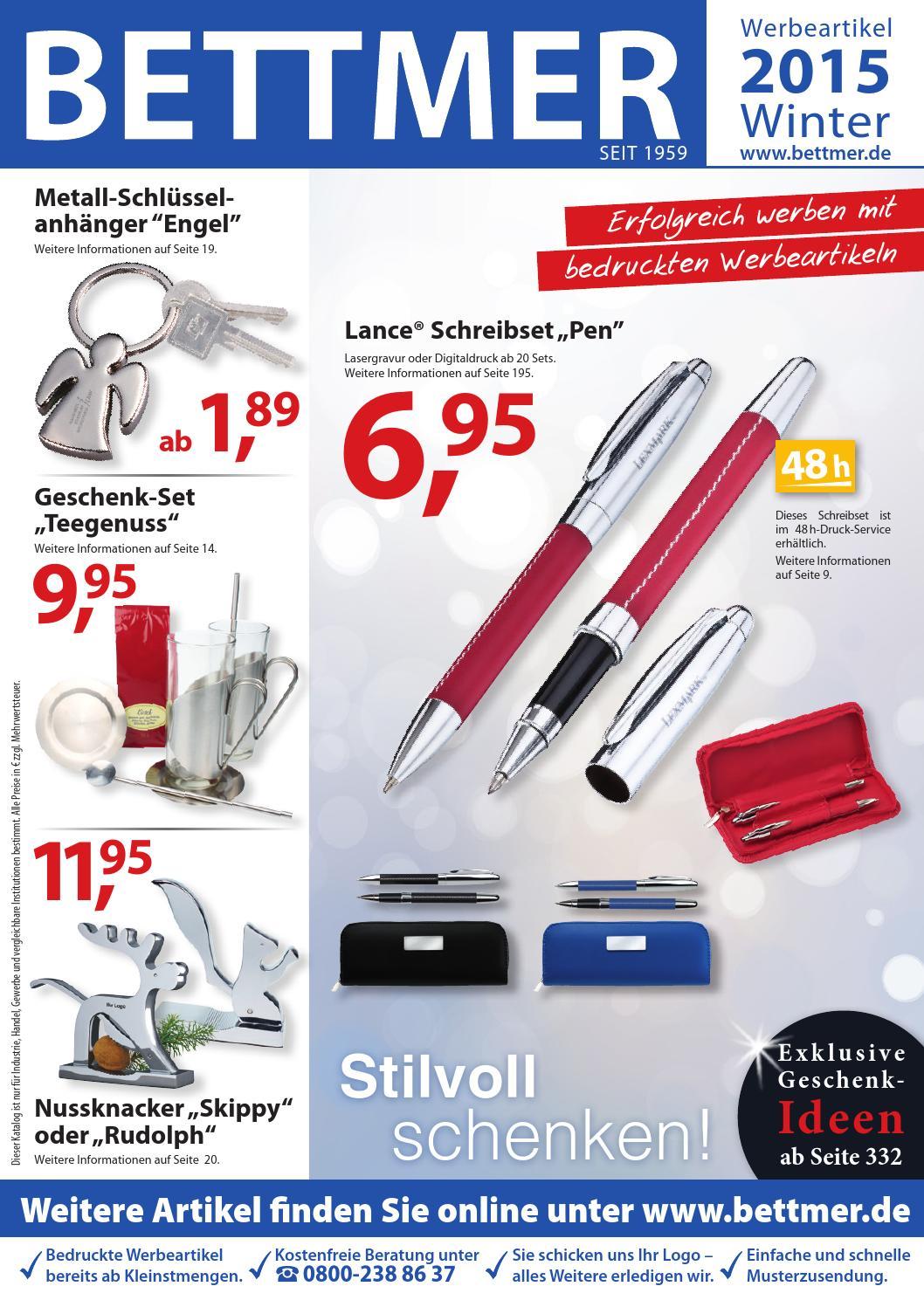 Bettmer Katalog Werbeartikel Winter 2015 by Bettmer GmbH - issuu
