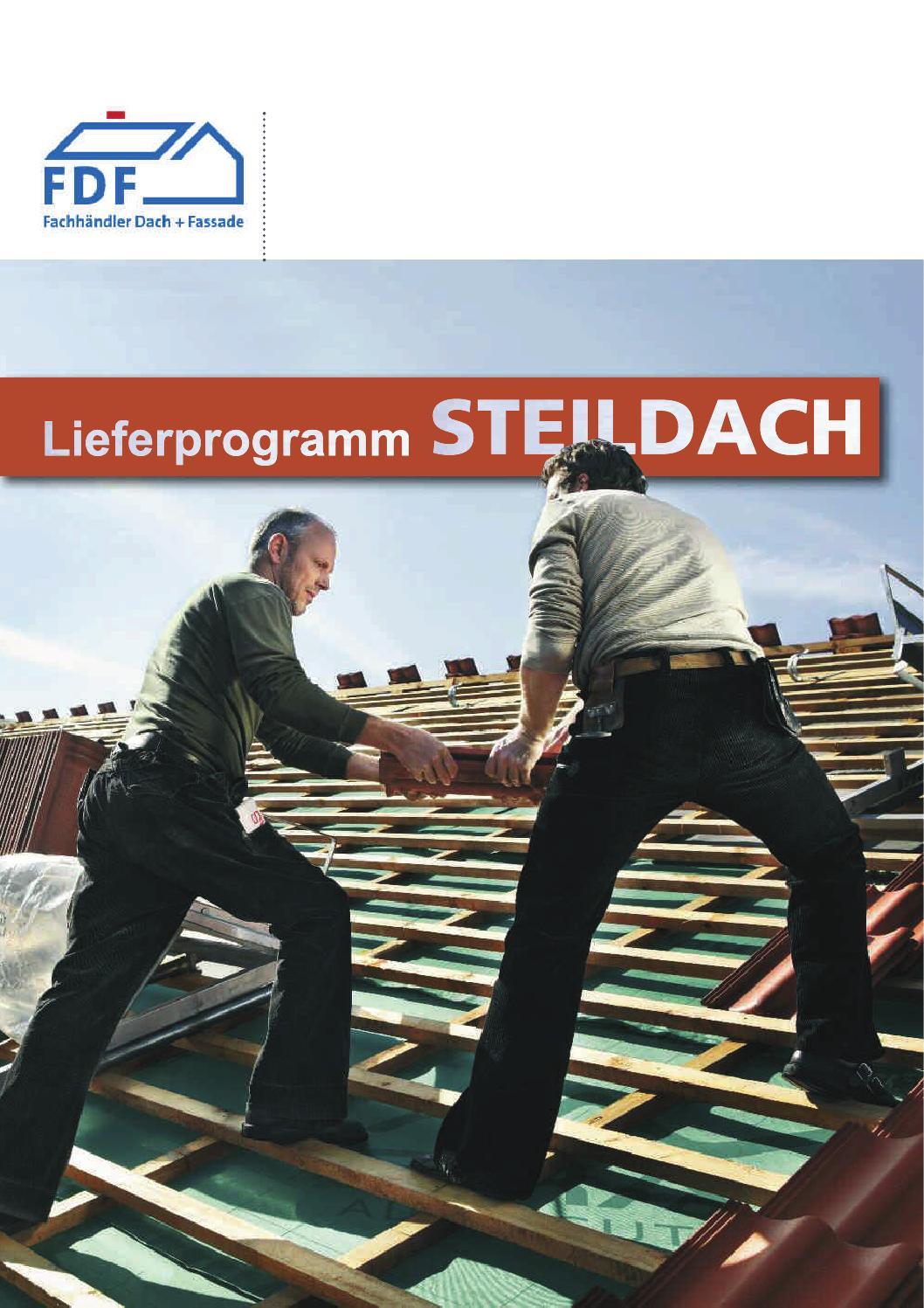 FDF Lieferprogramm Steildach by KRAWANY - issuu