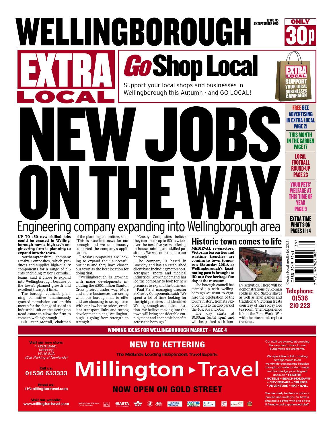 Wellingborough 25 9 15 by Extra Newspapers - issuu