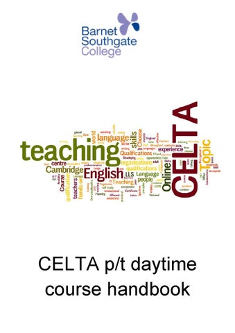 celta assignment 3 answers