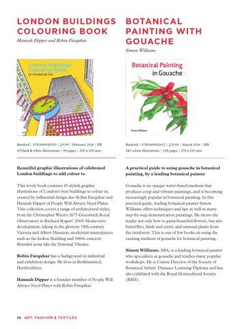 London BuildingS Colouring Book Hannah Dipper And Robin Farquhar
