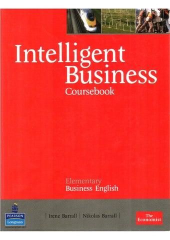 Intelligent business elementary coursebook by KAREN VIVIANA