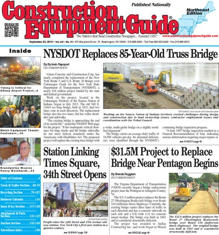 Northeast 19 2015 by Construction Equipment Guide - issuu