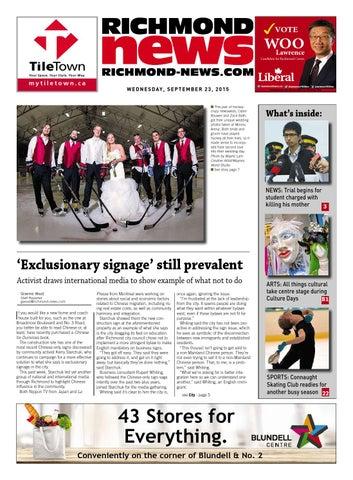 Richmond News September 23 2015 by Richmond News - issuu