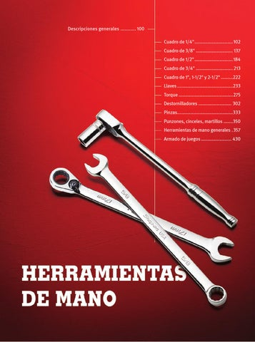 Herramientas de Mano - Catálogo Snap-on 1300 by snaponcl - issuu