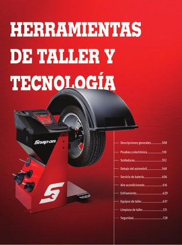 d38fce47f04 Herramientas de Taller y Tecnología - Catálogo Snap-on 1300 by ...