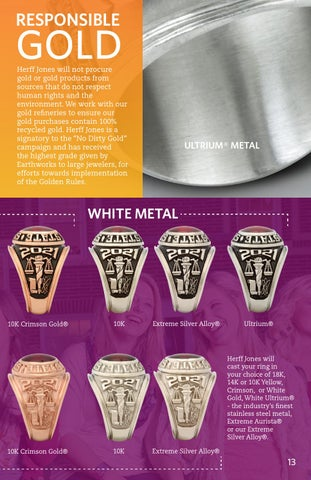 Herff Jones College Ring Catalog 2016 By Herff Jones Issuu