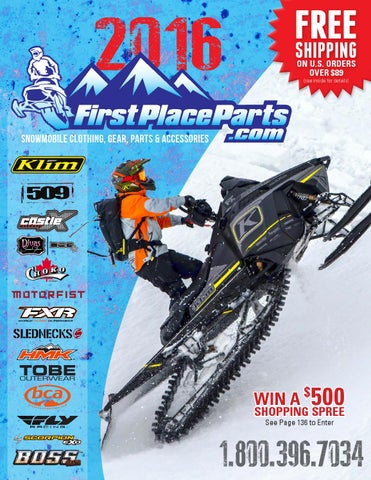 2d2a33e31c 2016 FirstPlaceParts.com Snowmobile Catalog by First Place Parts - issuu