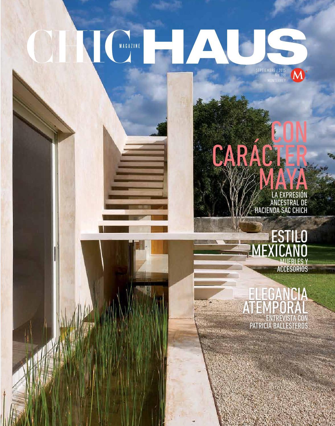 Chic Haus Monterrey N M 196 Sep 2015 By Milenio Diario  # Muebles Haus Monterrey