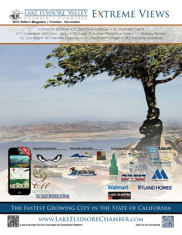 Fall 2015 By Lake Elsinore Valley Chamber Of Commerce   Issuu