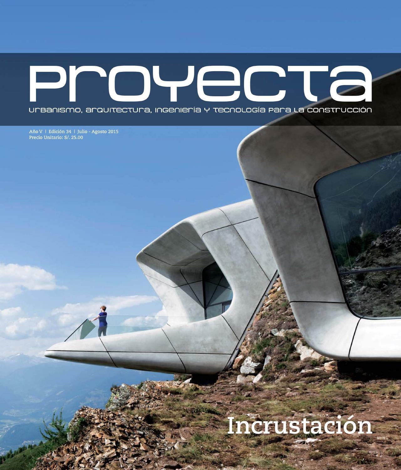 Proyecta ed 34 lima peru by construcci n y vivienda issuu for Precio de puertas levadizas en lima peru