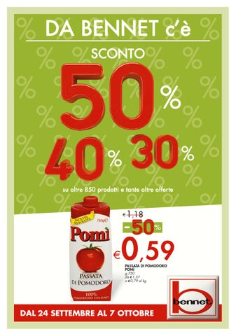 huge discount 445bc 6e842 Bennet volantino 24settembre 7ottobre2015 by CatalogoPromozioni.com ...