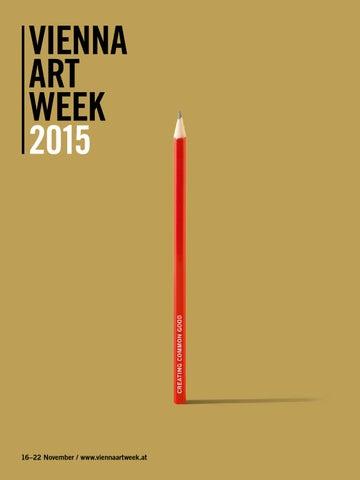 8d393365fd Creating Common Good - VIENNA ART WEEK 2015   EN by Vienna Art Week ...