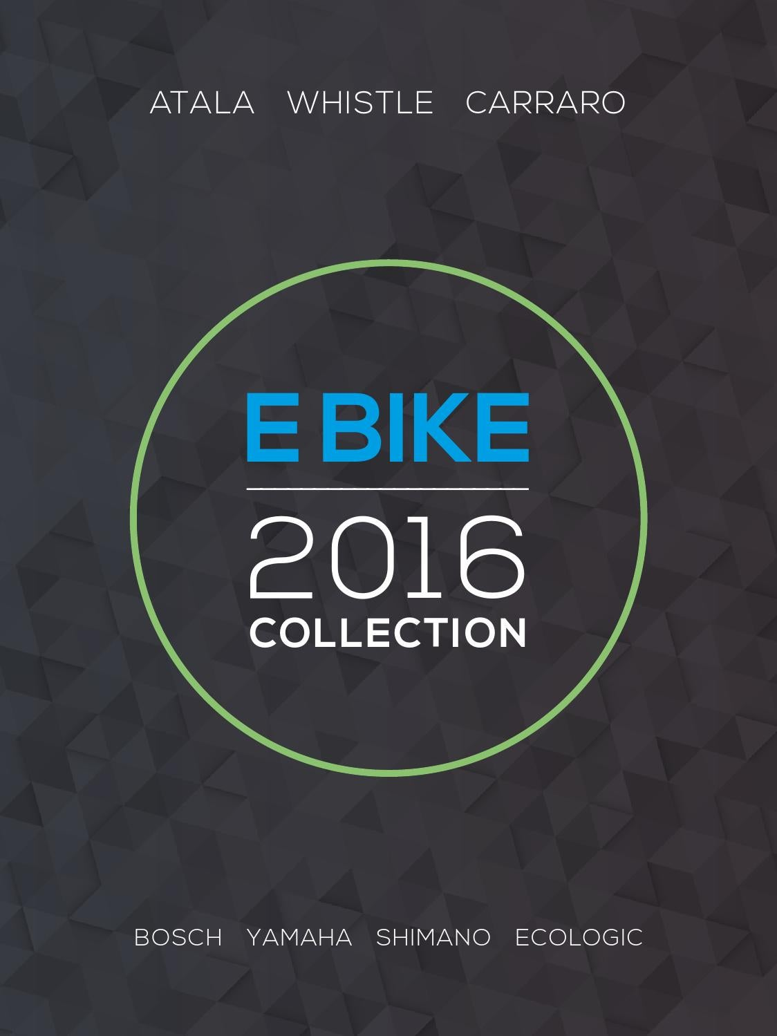 catalogo e bike 2016 by atala issuu