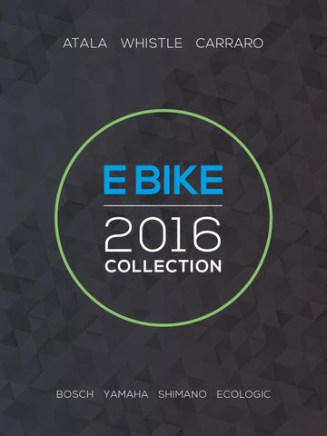 Catalogo E Bike 2016 By Atala Issuu