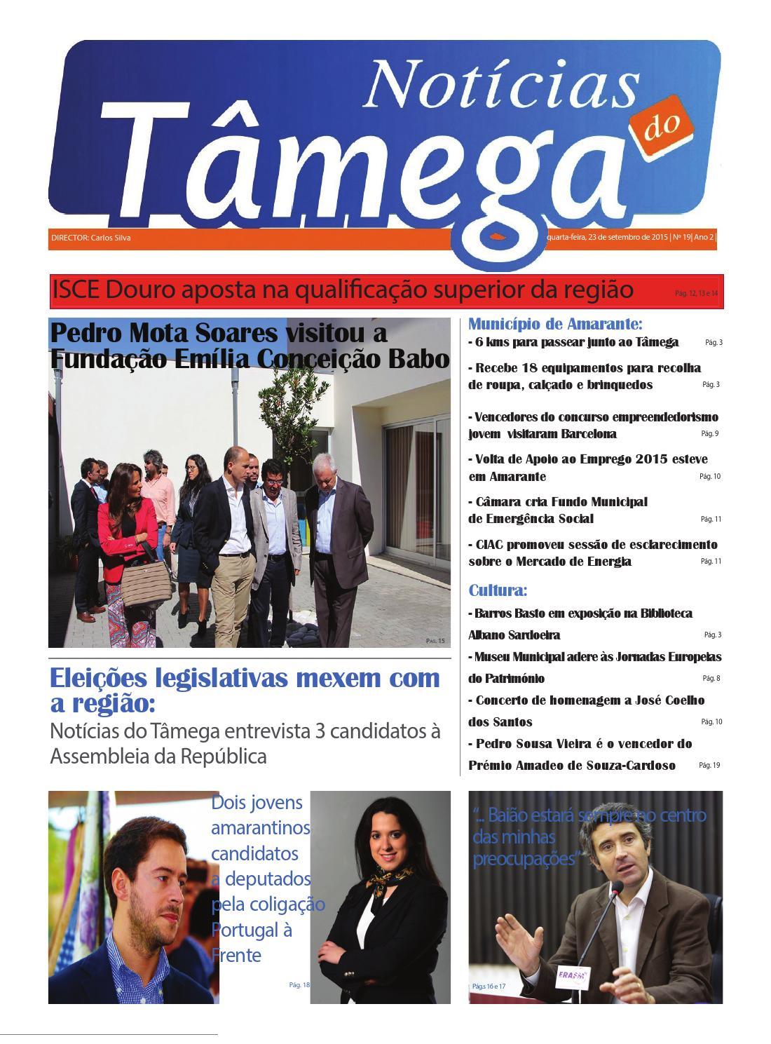 58b81c6b33 Notícias do tâmega nº 19 (23 setembro 2015) by MediaTâmega - issuu