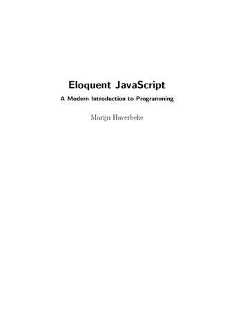 eloquent-javascript-2nd-ed090724092015 pdf by El Patagonico