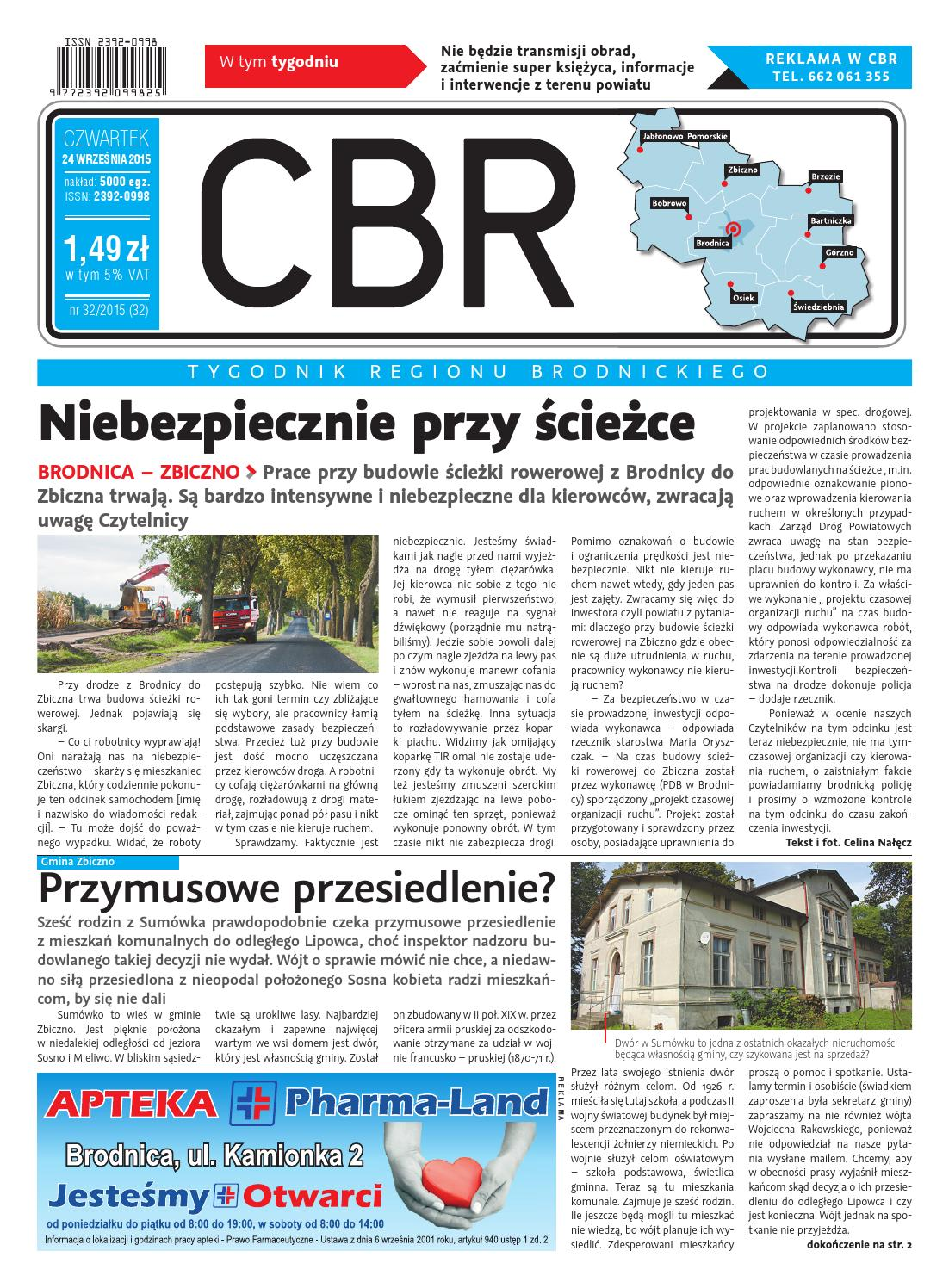 Cbr Nr 32 By Brodnica Cbrpl Issuu