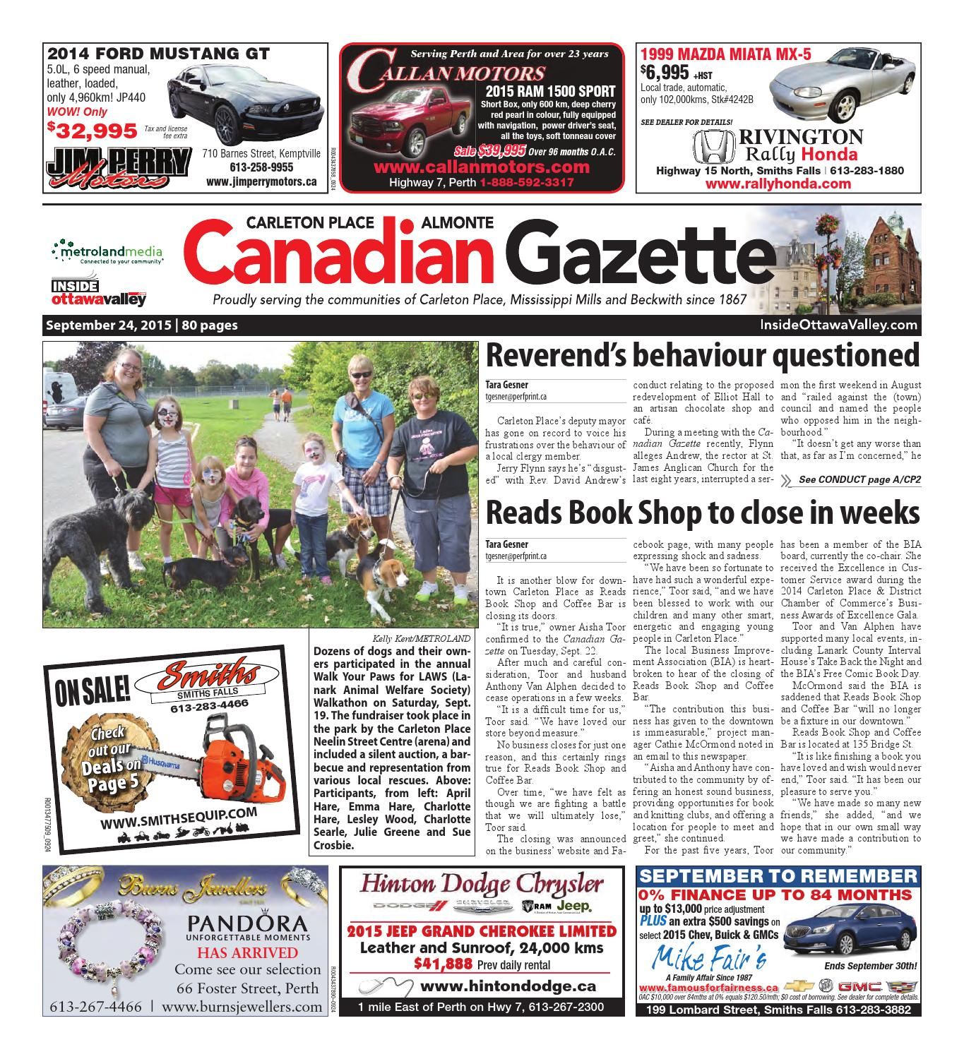 Almontecarletonplace092415 By Metroland East Almonte Carleton Barnes Snow Plow Wiring Diagram Place Canadian Gazette Issuu