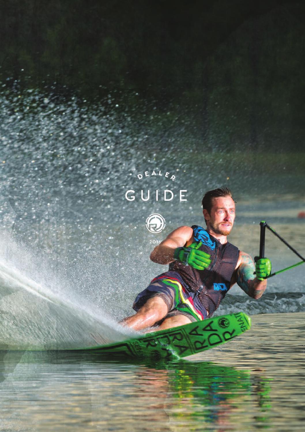 2018 Radar Skis Brochure By Watersports World Uk Issuu Water Ski Tow Harness 2016