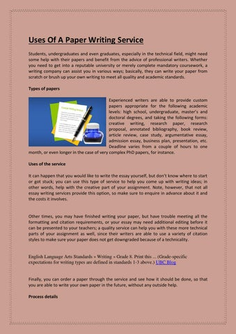 bibliography writers services