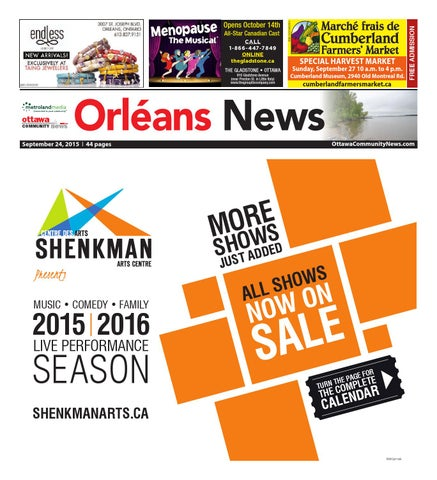 Orleans092415 by Metroland East - Orleans News - issuu