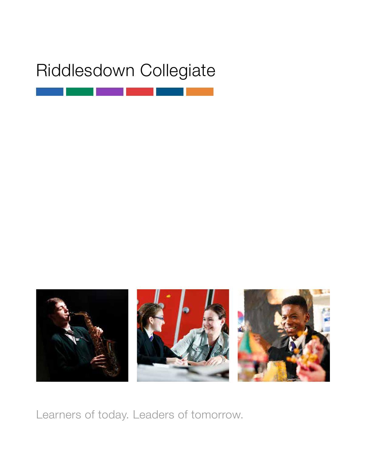 riddlesdown collegiate homework