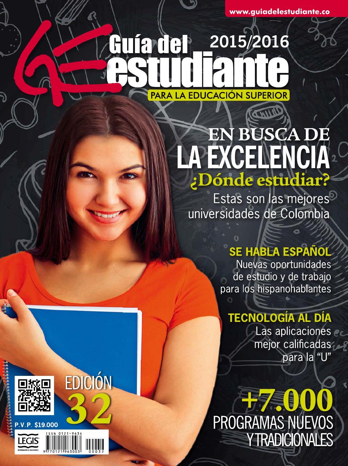 Guía del estudiante ed 32 by LEGIS SA - issuu