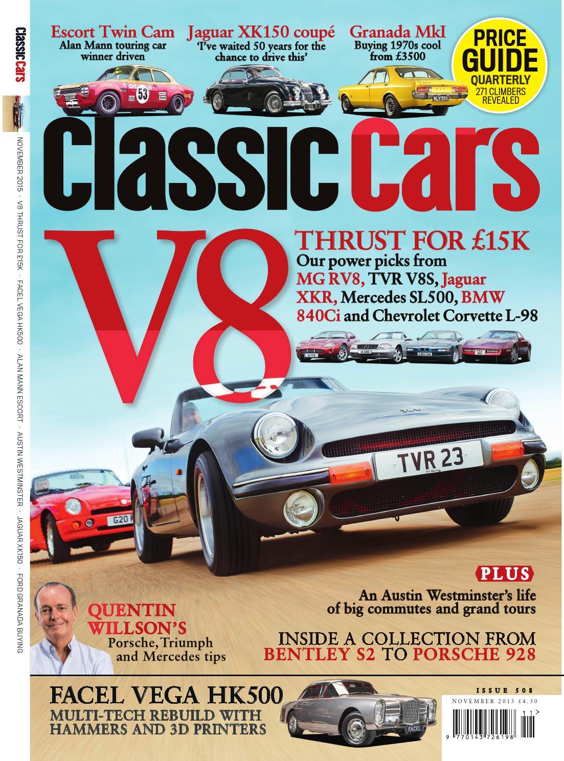 Classic cars M,agazine, November Issue by Classic Cars Magazine - issuu