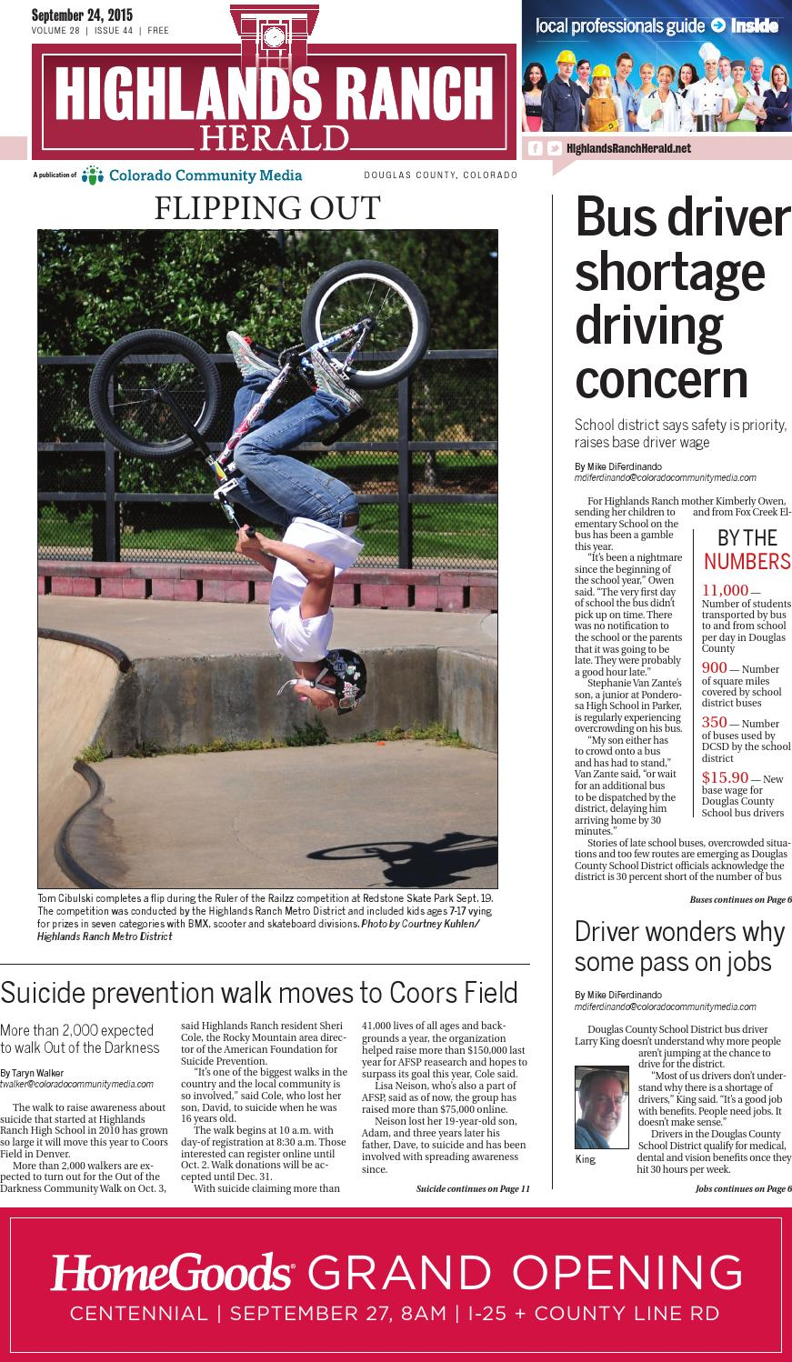 Highlands Ranch Herald 0924 by Colorado Community Media - issuu