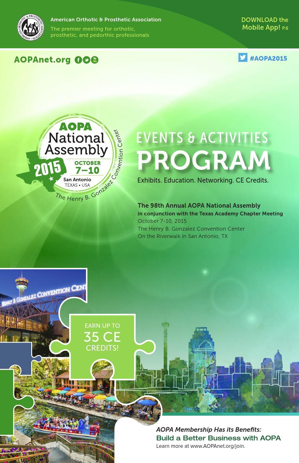 2015 AOPA National Assembly Program