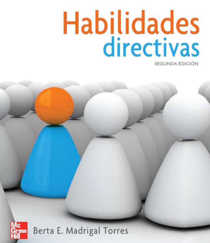 descargar libro habilidades directivas berta madrigal