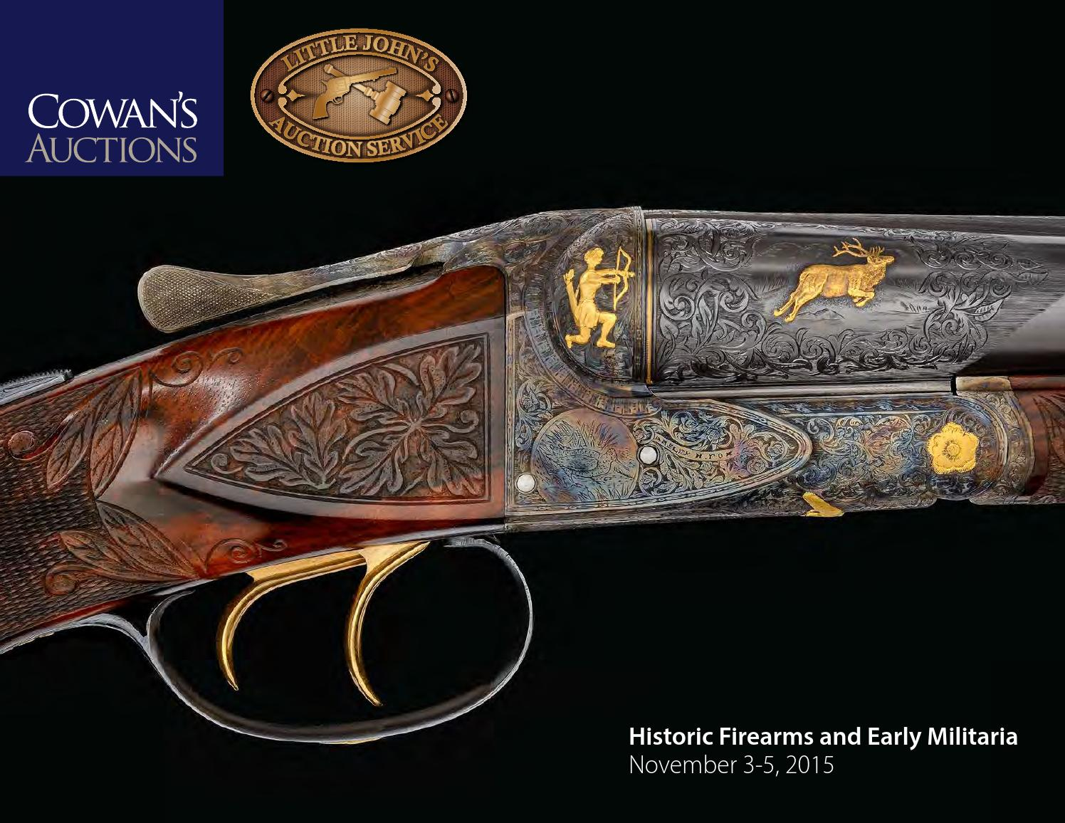 d8061012ac Historic Firearms and Early Militaria by Cowan s Auctions - issuu