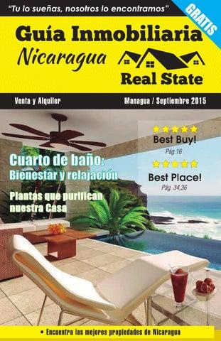 Septiembre 2015 by guia inmobiliaria nicaragua issuu for Guia inmobiliaria