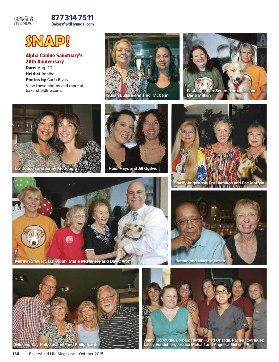 Bakersfield Life Magazine October 2015 By Tbc Media