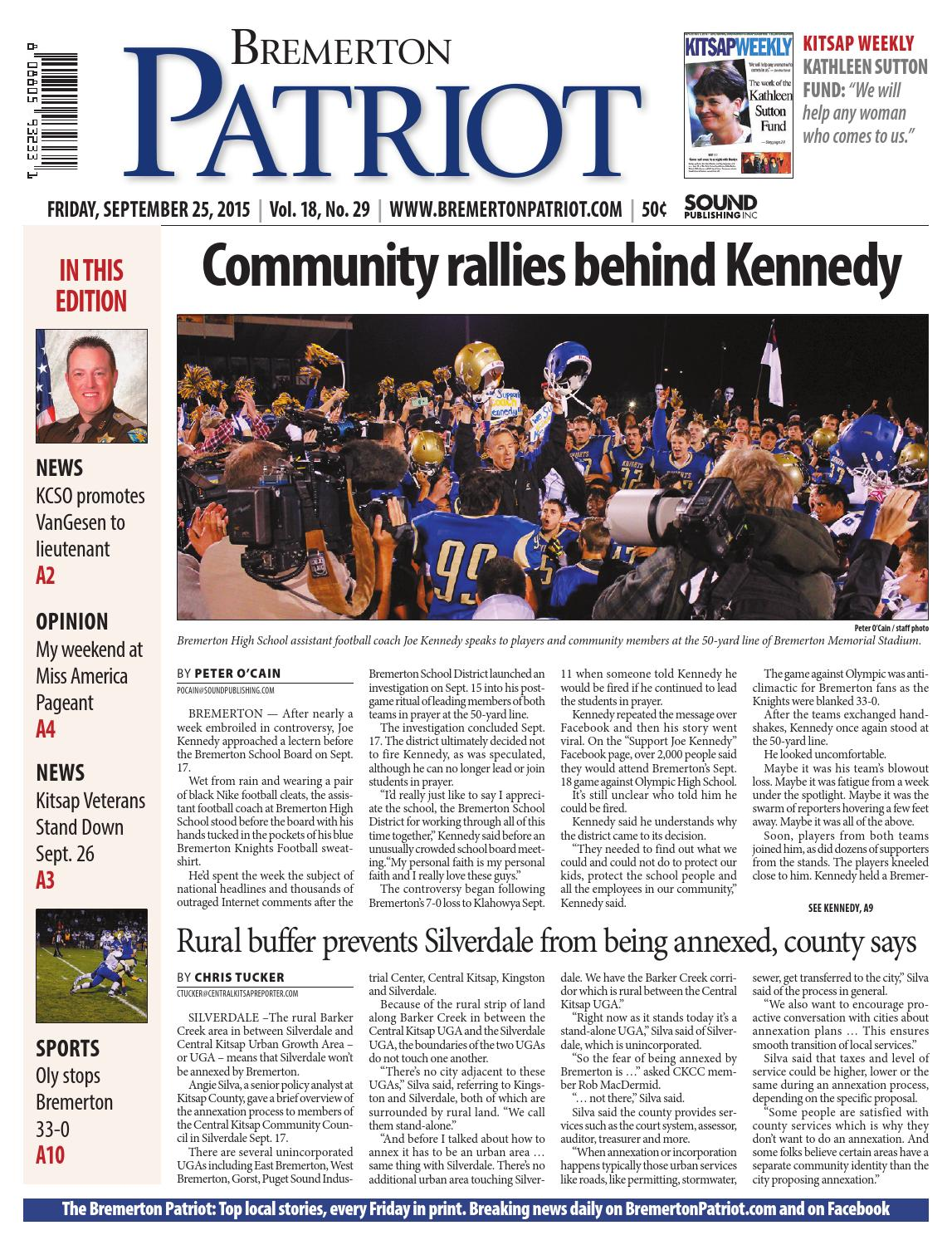 bremerton patriot, september 25, 2015 by sound publishing - issuu