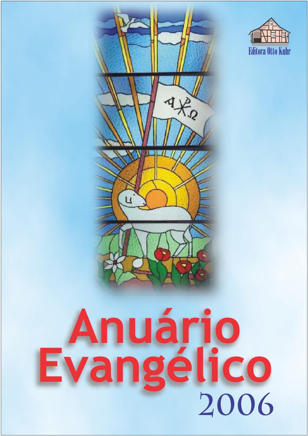 272bd6e20ca Anuario Evangélico. Ano 35. 2006 by Portal Luteranos - IECLB - issuu