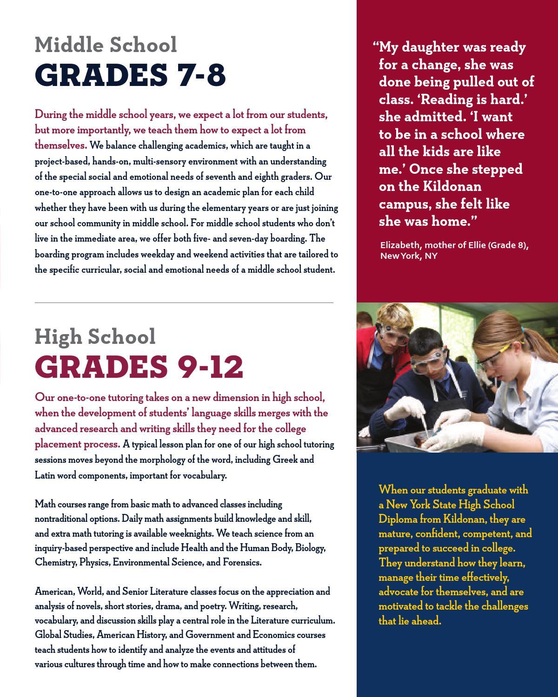 Workbooks vocabulary building worksheets high school : Kildonan School - Viewbook by Peapod Design - issuu