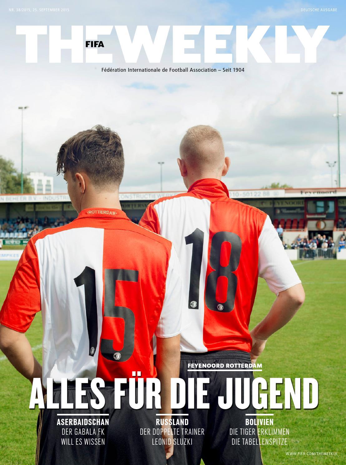 The FIFA Weekly Ausgabe #38 by Fédération Internationale de