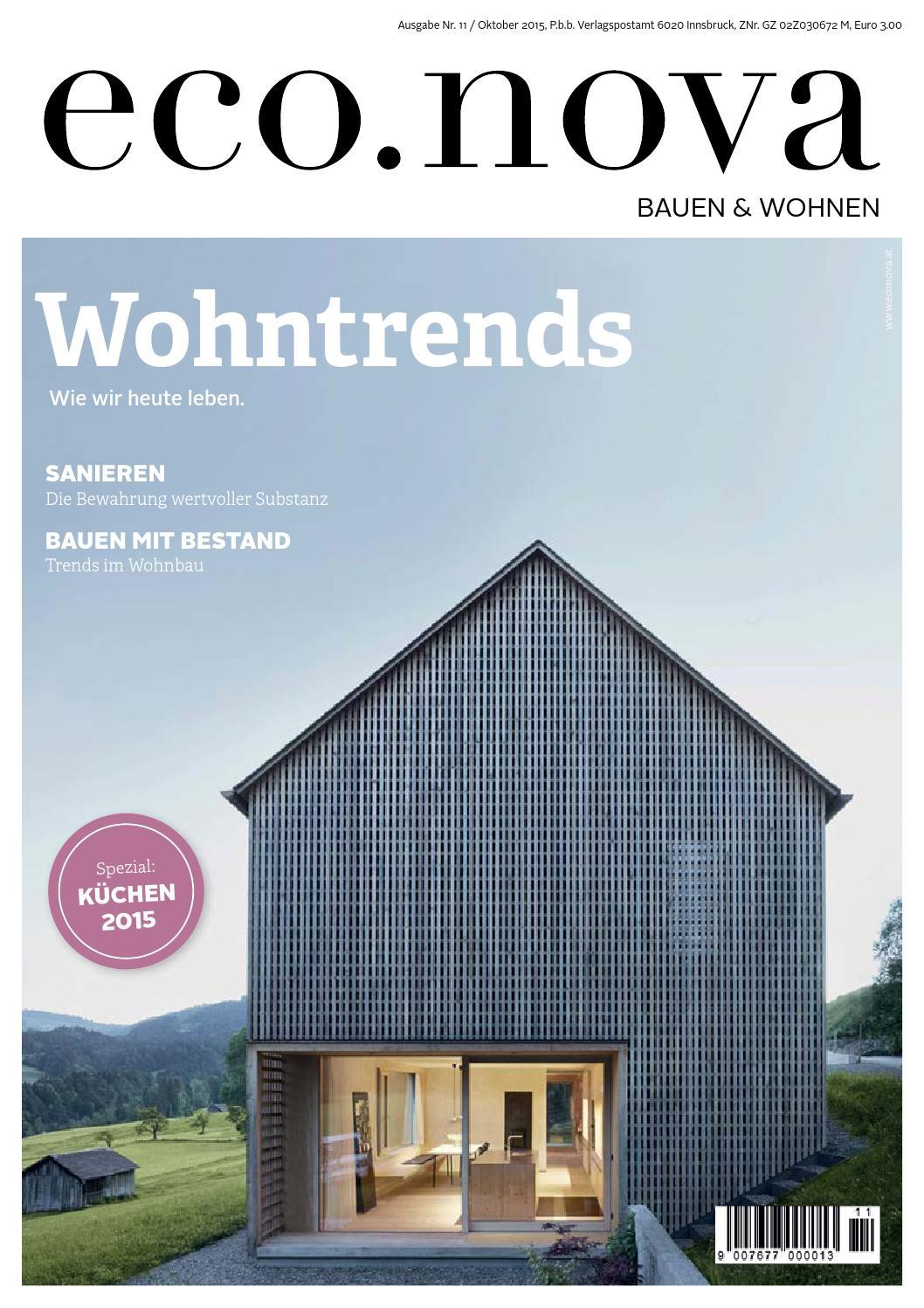 eco.nova SPEZIAL Bauen & Wohnen 2015 by eco.nova verlags gmbh - issuu