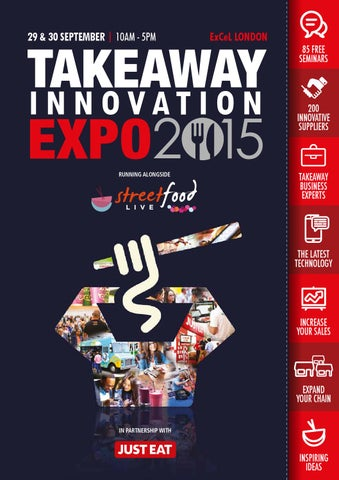 Takeaway Innovation Expo 2015 Show Guide By Prysm Group Issuu